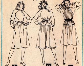 1980s Dress Pattern