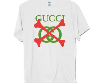 This Is Not Gucci t shirt , gucci bone cross T-shirt Savage 21 inspired