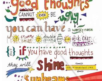 Good Thoughts print