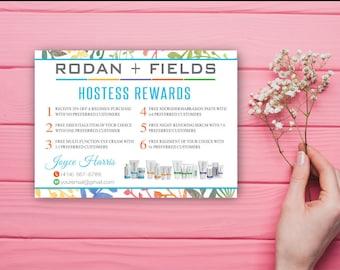 Rodan and Fields Hostess rewards, Custom Rodan and Fields Hostess rewards, Custom Rodan and Fields, Printable RF RF02