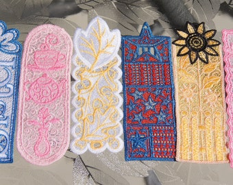 Bookmark Lace Embroidered