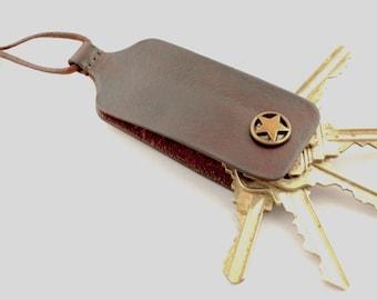 Key Holder Dark Brown