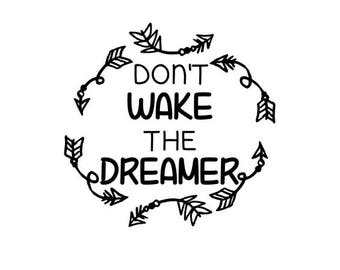 Don't Wake The Dreamer arrows SVG