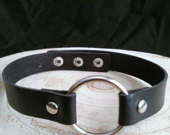 Black O Ring Choker