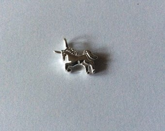 Small 925 Sterling Silver Horse charm/pendant
