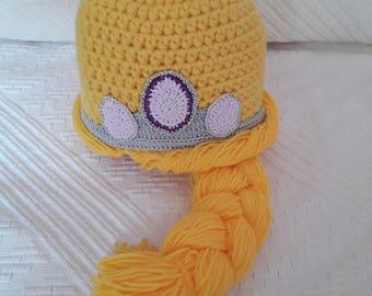 Bonnet inspiré de raiponce