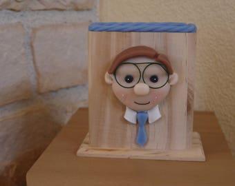 Range lunettes ou télécommande version homme