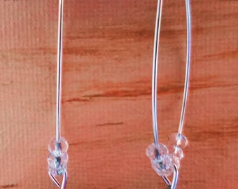 Far Out Multifaceted Earrings on Kidney Wires