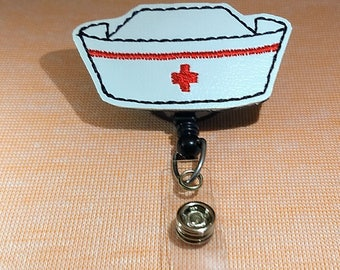 Nurse Cap Badge Reel