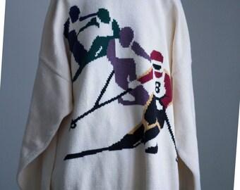 Vintage 90s Ski Sweater