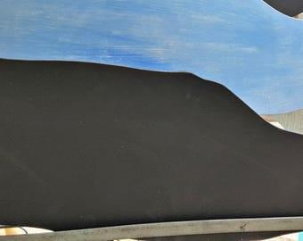 Handmade whale chalkboard
