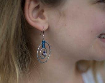 Grainne O'Malley's Heart Earrings