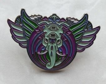 Bassnectar Elephant Pin