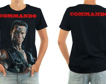 Commando T-shirt All sizes