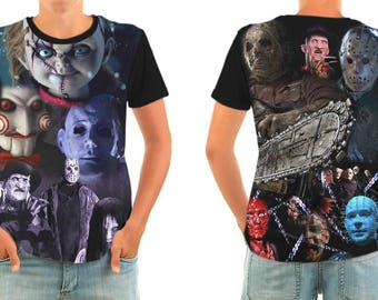 Heroes of horror T-shirt All sizes
