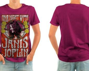 Janis Joplin T-shirts All sizes