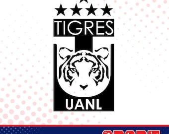Tigres silhouette, sport silhouettes, Soccer silhouette SS-SO-037