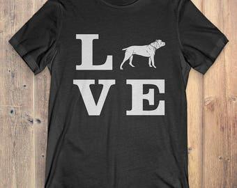 Cane Corso Dog T-Shirt Gift: I Love Cane Corso