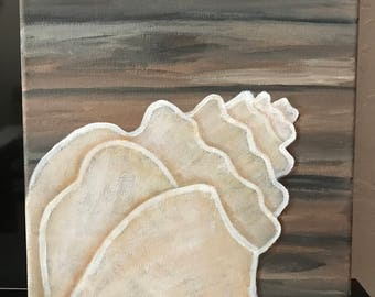 Canvas Art, Seashell