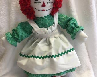 """Raggedy Ann Doll 20"""""""