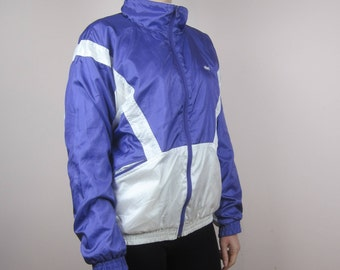 vintage windbreaker sports jacket tracksuit Neon 80s