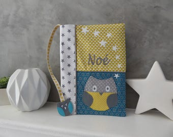 Protects health owl, personalized OWL and his bookmark