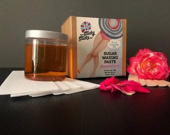 Sugar wax, Sugar paste, Sugaring paste natural hair removal depilation sugaring wax kit