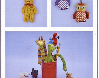 Sandra Polley Knits & Pieces Bazaar and Fete Knitting Patterns : Miniature Gifts and Keepsakes and The Craft Stall