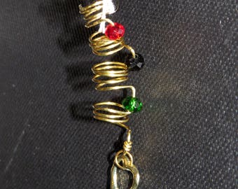 RBG Love Loc & Hair Jewelry - Gold