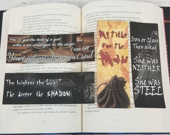 Nevernight -  Bookish Bookmarks