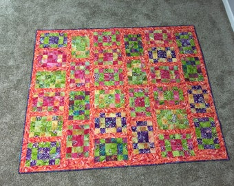 Colorful Patchowrk Quilt