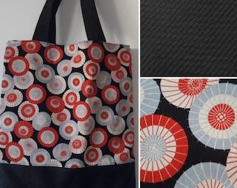 Japanese fabric bag tote bag.