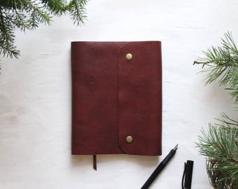Brown Leather Journal, Notebook A5, Notebook Leather, Leather Journal A5, Leather Journal, Brown Notebook, Leather Notebook, Notebook