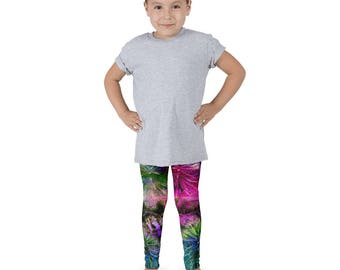 Kid's leggings, Fun Kids Print, Printed Leggings, Cactus Print, Galaxy Leggings, Space Leggings, Kids Pants, Kids Yoga Pants, active wear