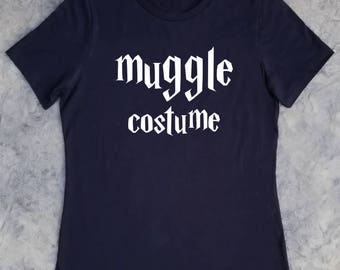 Muggle Costume Harry Potter Inspired Tee