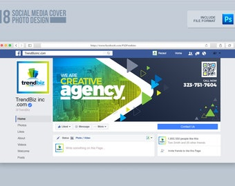 Social Media Cover Package for Corporate Business or Event | Facebook Cover, Twitter Cover and Youtube Channel Art | Instant Download