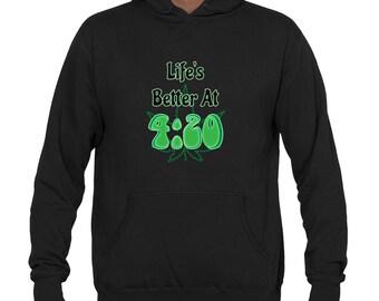 WEED SHIRT | Winter Sweatshirt | Winter Pullover | Stoner Hoodie | Marijuana Shirt | Pot Shirt | Badass Sweatshirt by Badass T-Shirt Co.
