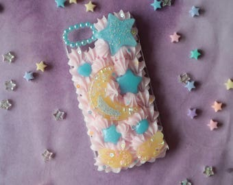 Fits iPhone 7/8 Moon Shaker Decoden Case