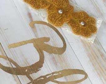 Lace baby headband