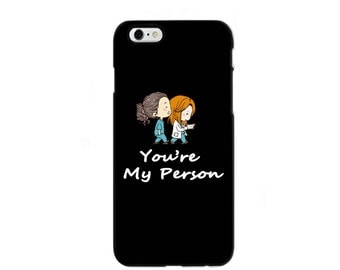 greys anatomy phone case, you are my person phone case, greys anatomy gifts, grey anatomy, greys anatomy merchandise, iphone samsung case