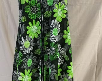 Adorable fun high low dress to pair with your favorite sandals! Or stretch the season and add a long sleeve shirt underneath and leggings.
