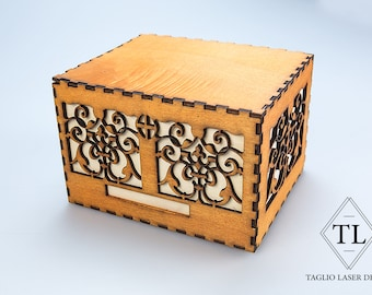 Inlaid wooden Box