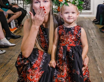 AMAZING Mother Daughter matching Dresses!