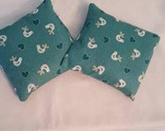Green Chickens Handwarmers x2 (large)