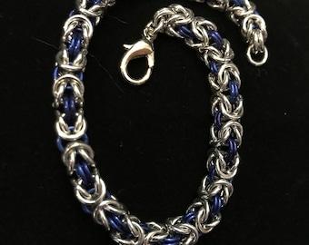 Woven Byzantine Bracelet