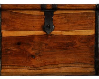 Storage Trunk / Wooden Trunk / Vintage Storage Trunk
