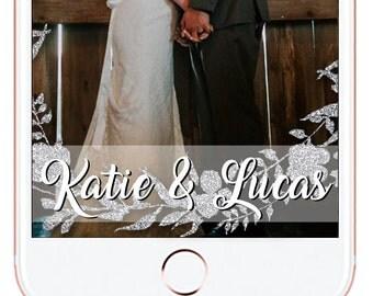 Winter Wedding Snapchat Geofilter #26
