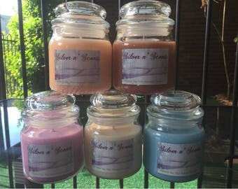 Natural Soy Wax Candles.
