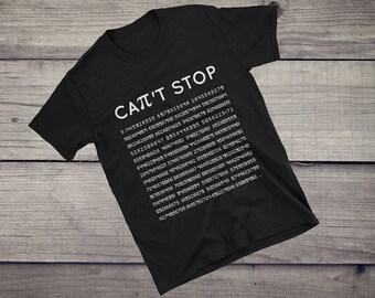 Can't stop, PI T-Shirt, math teacher shirt, math teacher gift, funny math shirt, students shirt, graduation shirt, algebra Unisex T-Shirt