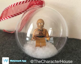 C-3PO LEGO Christmas Tree Decoration